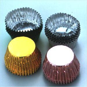 チョコカップ チョコレート型 丸 5色 20個入【代引不可】 [01]|honkeya
