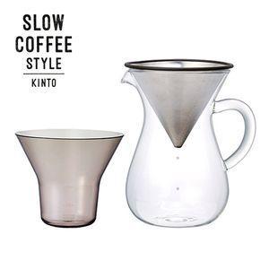 SLOW COFFEE STYLE コーヒーカラフェセット ステンレス 600ml【代引不可】 [01]|honkeya