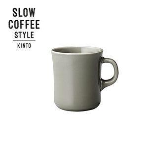 SLOW COFFEE STYLE マグ グレー 400ml【代引不可】 [01]|honkeya