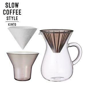 SLOW COFFEE STYLE コーヒーカラフェセット プラスチック 600ml【代引不可】 [01]|honkeya