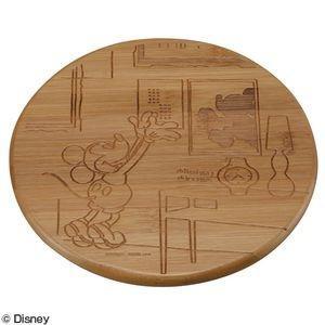 竹製鍋敷き ミッキーマウス お引っ越し MA-1607 MA-1607【代引不可】 [01]|honkeya