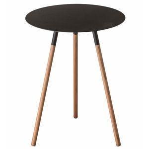 サイドテーブル ブレーン ブラック 【代引不可】 [01]|honkeya