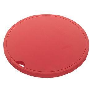 シリコン鍋敷き アクア 丸型 レッド 2951 AQUA【代引不可】 [01]|honkeya