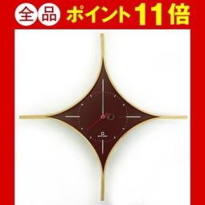 時計 DAIA CLOCK ブラウン YK09-108 【代引不可】 [01]|honkeya
