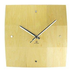 掛け時計 BOWL CLOCK ナチュラル YK06-003 【代引不可】 [01]|honkeya