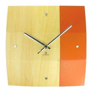 掛け時計 BOWL CLOCK オレンジ YK06-003 【代引不可】 [01] honkeya