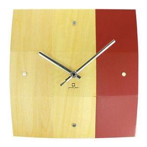 掛け時計 BOWL CLOCK レッド YK06-003 【代引不可】 [01] honkeya