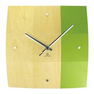 掛け時計 BOWL CLOCK ライトグリーン YK06-003 【代引不可】 [01] honkeya