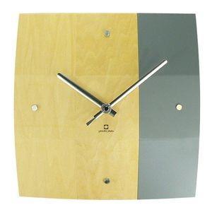 掛け時計 BOWL CLOCK グレー YK06-003 【代引不可】 [01] honkeya
