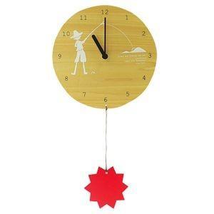 掛け時計 MOBILE CLOCK 太陽を釣る少年 YK09-101 【代引不可】 [01] honkeya