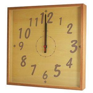 掛け時計 TASTE CLOCK ナチュラル YK10-101 【代引不可】 [01]|honkeya