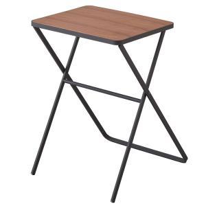 折り畳みテーブル タワー ブラック 3423 【代引不可】 [01]|honkeya