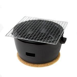 水コンロ ロロ LOLO 炭焼き水コンロ セット 大サイズ 陶器製 黒【代引不可】 [01]|honkeya