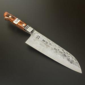 三徳包丁 最上級 白紙鋼 刀皇 関東鍛冶職人 総手造り 匠の技|honmamon
