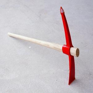 バチヅル2.5k 900mm 柄付 つるはし ツルハシ|honmamon