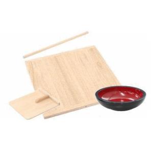 そば打ちセット そば打ち道具 蕎麦道具 蕎麦包丁なし honmamon