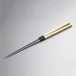 高級料理用箸 盛箸朴柄 180mm honmamon