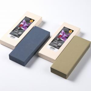 砥石 京東山 粉末ハイス包丁用 中砥石 ハイス1000 仕上げ砥石ハイス3000 セット|honmamon