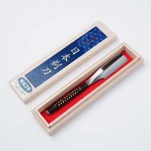 日本かみそり(剃刀 カミソリ)青紙鋼 桐箱 藤巻#12000|honmamon