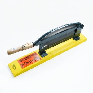 押し切り器 自動 押し切り機 押切り 押切 わらきり 藁切り 藁きり 390mm|honmamon