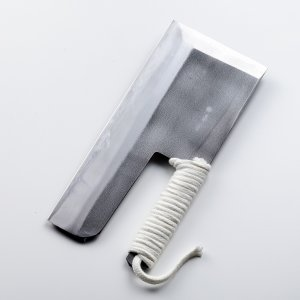 麺切り包丁 そば切り包丁 安来青紙鋼 蕎麦包丁本刃付け  300mm 30cm 左利き用|honmamon