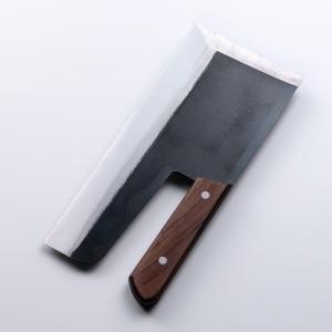 そば切り包丁 蕎麦包丁 麺切り包丁 全鋼 300mm 30cm 左利き用|honmamon