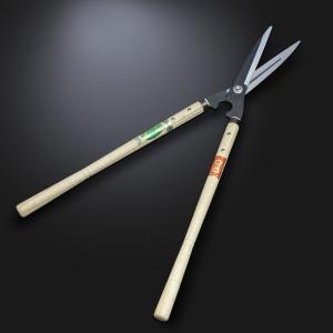 刈込鋏 花隈川 鋼付 180mm 青紙鋼 剪定 庭木 刈り込みバサミ ばさみ ハサミ はさみ|honmamon