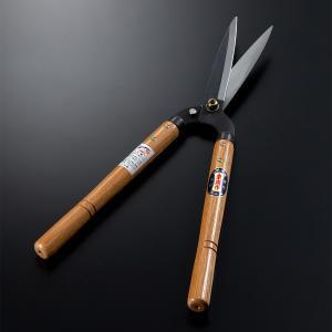 刈込鋏 一般向 園芸鋏 東周作 門型 短柄 155mm 剪定 庭木 刈り込みバサミ ばさみ ハサミ はさみ|honmamon