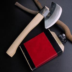 斧 オノ 枝打 火造り鉈 極上 青紙鋼 先刃型枝打斧500g|honmamon