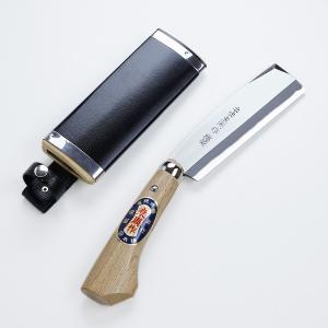 腰鉈 ナタ 火造り 鉈 高級 両刃 白紙鋼 150mm honmamon