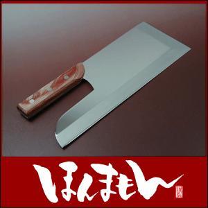 蕎麦包丁 麺切り包丁 ステンレス そば切り包丁 300mm 30cm|honmamon