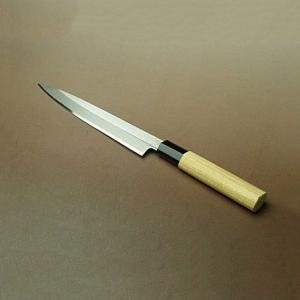 刺身包丁 左利き用 柳刃包丁 180mm 白紙二号|honmamon