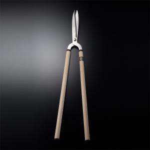 ほんまもん 極上 葉刈鋏 磨き門型 210mm 剪定 庭木 刈り込みバサミ ばさみ ハサミ はさみ|honmamon