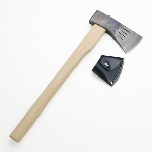 土佐打刃物 全鋼 木馬斧750g 樫柄450mm カバー付|honmamon