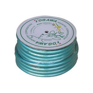 十川 日本製 耐圧・防藻 糸入り散水ホース 18mm×23mm 50M巻|honmamon