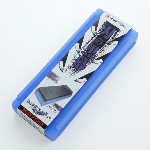 シャプトン セラミック砥石 刃の黒幕 #320 ブルーブラック 荒砥石 honmamon