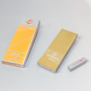 ナニワ NANIWA エビ 包丁研ぎ エビダイヤモンド角砥石 片面 #6000 honmamon