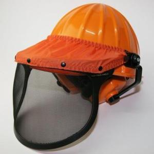刈払い作業・チェーンソー用プロテクター ヘルメット|honmamon