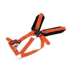 草刈機 刈払機用 ダブル 肩掛けベルト ソフト肩パットタイプ|honmamon