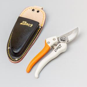 剪定ばさみ 剪定鋏 はさみ ハサミ ザクト210mm ZS-210替刃式 ケース付き|honmamon