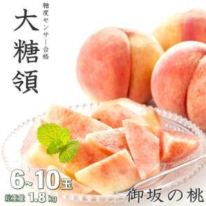 お中元 フルーツ ギフト 送料無料 山梨産 桃 みさかの大糖...