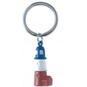 LIGHTHOUSE KEYRING(BLUE+WHITE+RED)|hono-y