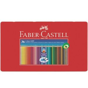 """FABER-CASTELL"" カラーグリップ色鉛筆36色|hono-y"