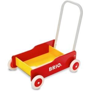 【ラッピング対応】BRIO(ブリオ) 手押し車(赤)|hono-y