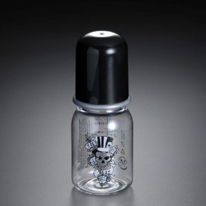 ROCK STAR BABY ボトル(哺乳瓶) タトゥードクロ S|hono-y