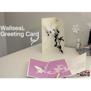 Wallseal greeting card(4セット)|hono-y