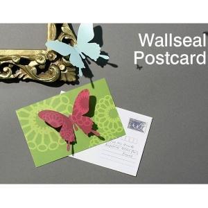 Wallseal post card(4セット)|hono-y