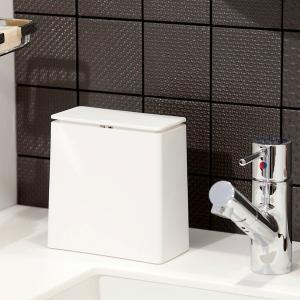 目隠し出来て省スペースのゴミ箱 TUBELOR mini flap ideaco チューブラー TUBELOR ダストボックス イデアコ 蓋 フタ|hono-y