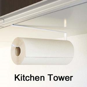 Kitchen paper holder Tower(戸棚下キッチンペーパーホルダー タワー)|hono-y