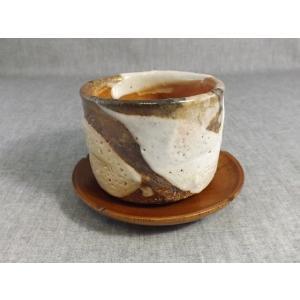 陶芸作家の手造りの志野焼夫婦湯飲み ギフト、還暦祝い、定年、退職祝い、結婚祝い、誕生日、 クリスマス...